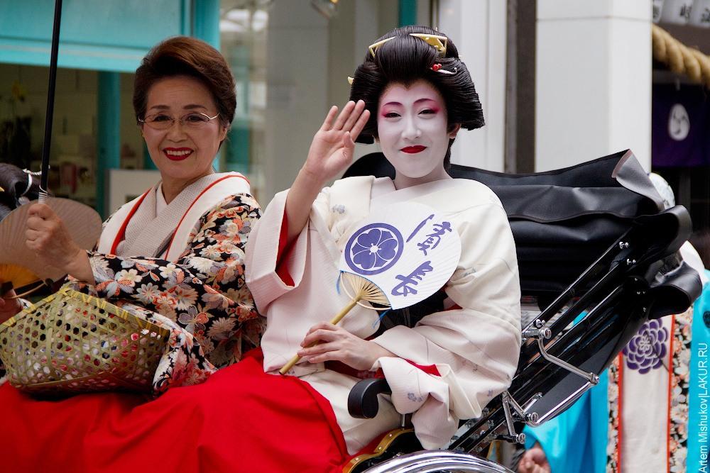 япония, ясакой, фестиваль,гейша