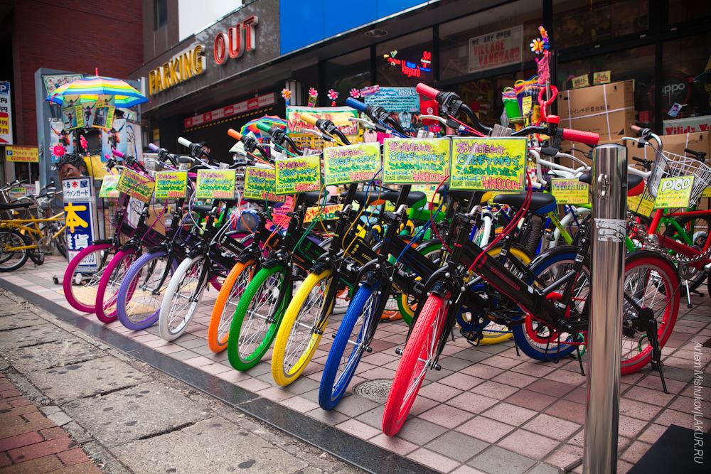 фукуока,япония,кюсю,велосипед
