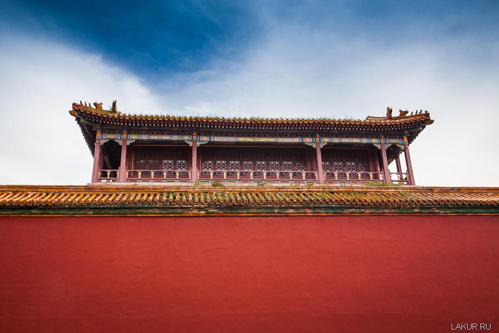 китай, пекин, запретный город