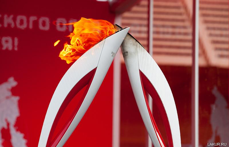 олимпиада, сочи, зима, 2014, эстафета, факел, огонь