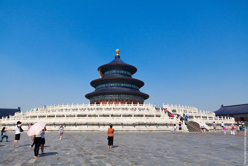 китай, храм неба, запретный город