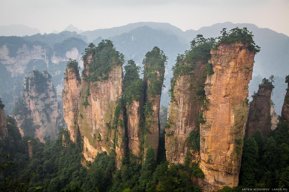 Китай, Аватар,горы